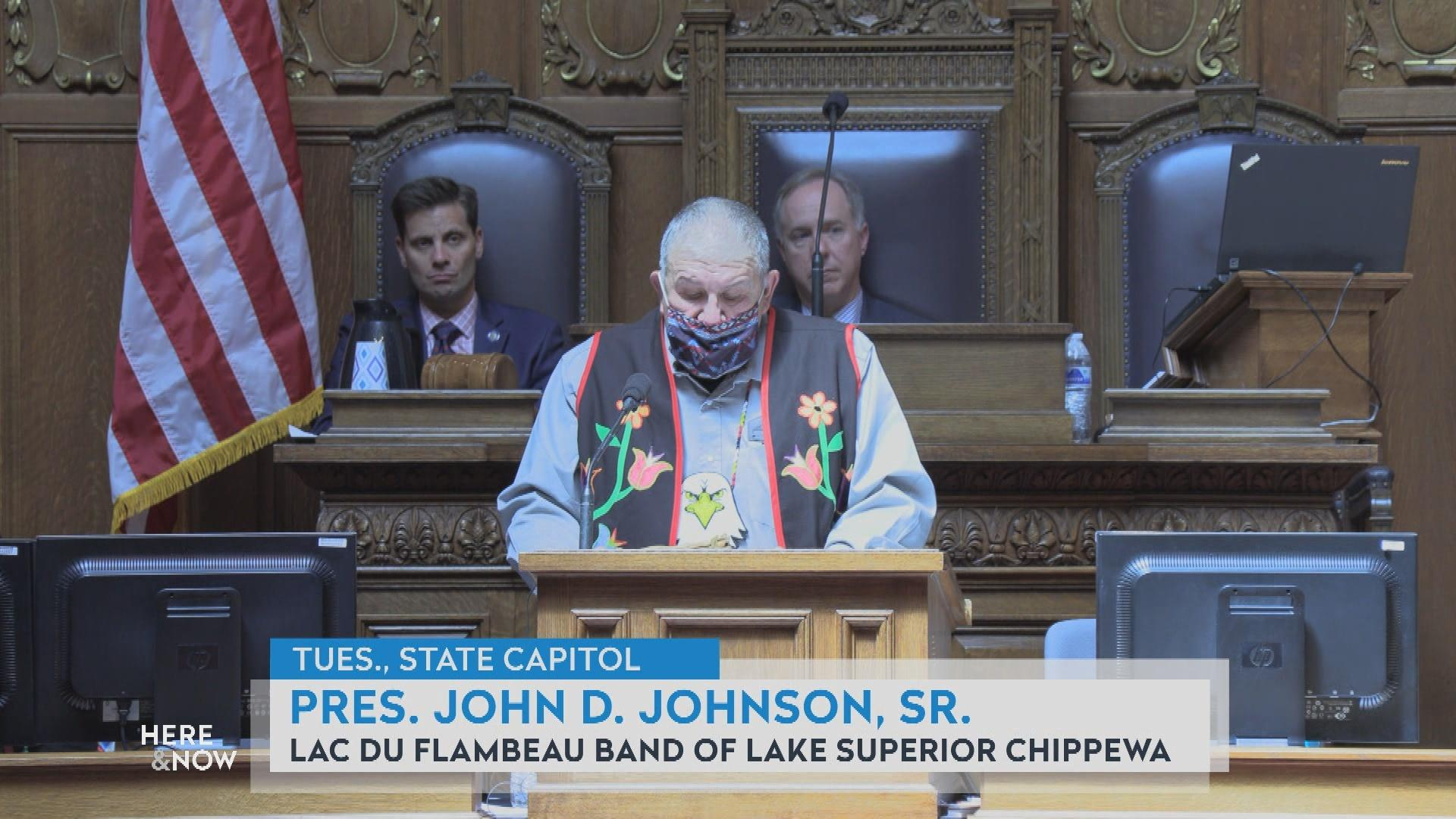 John Johnson on Issues Touching Sovereign Nations