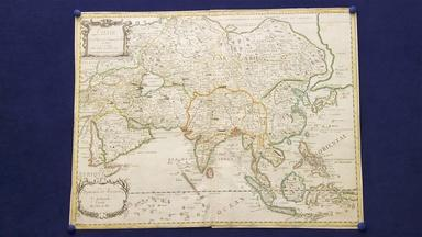 1664 Pierre Duval Asia Map