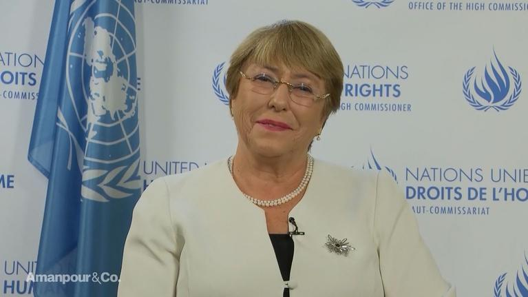 Amanpour and Company: Michelle Bachelet on This Year's UN General Assembly