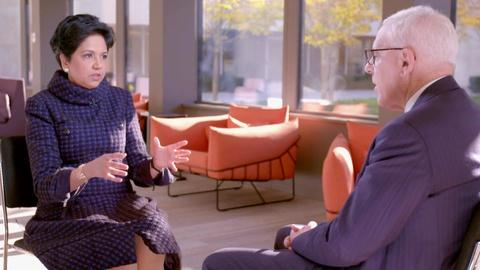 The David Rubenstein Show: Peer to Peer Conversations -- Indra Nooyi Interview Excerpt