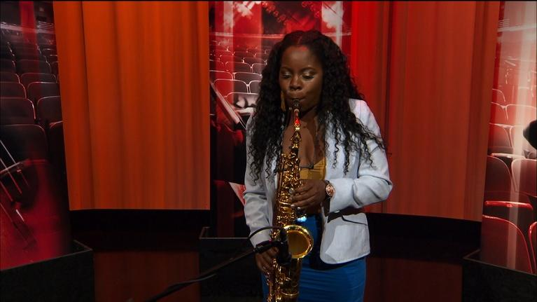 "Open Studio with Jared Bowen: Tia Fuller performs ""Queen Intuition"""