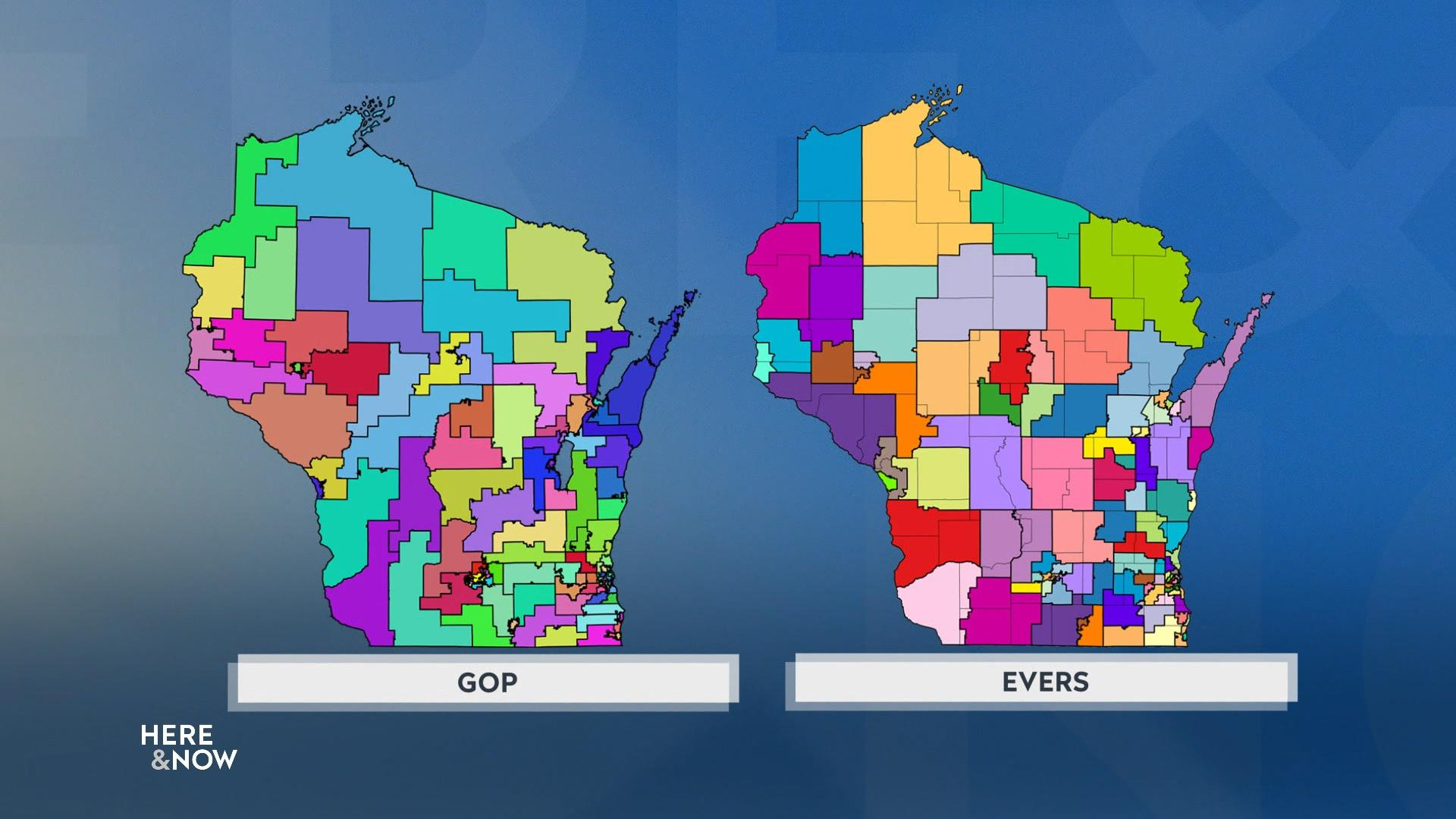 Republicans, Maps Commission Issue Dueling Redistricting Map
