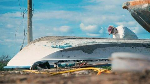 When Disaster Strikes -- A Local Fisherman Works to Restore Damaged Boats
