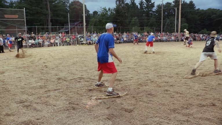 Wisconsin Life: Snowshoe Baseball