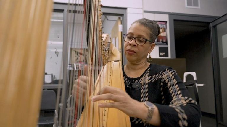 Detroit Performs : Cass Tech's Harp Program