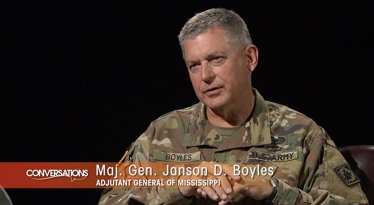 Conversations: General Janson D. Boyles