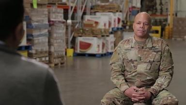 How the Ohio National Guard is Helping State Food Banks