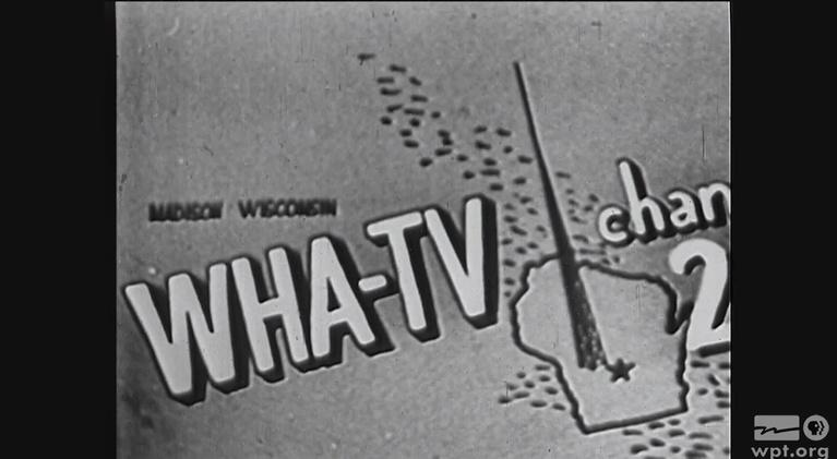 WPT Archives: 1950s: Dedication Program WHA-TV
