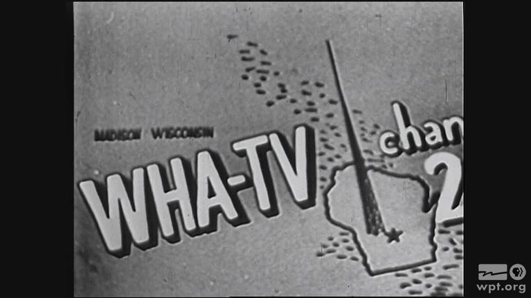 WPT Archives: 1950s: Dedication Program WHA-TV