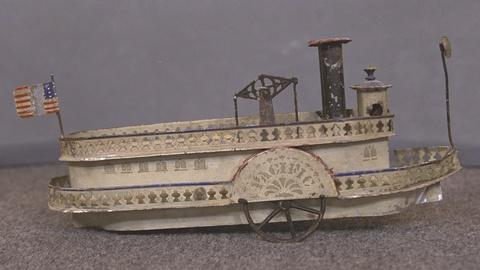 Antiques Roadshow -- S21 Ep20: Appraisal: George Brown Toy Side-Wheeler, ca. 1880
