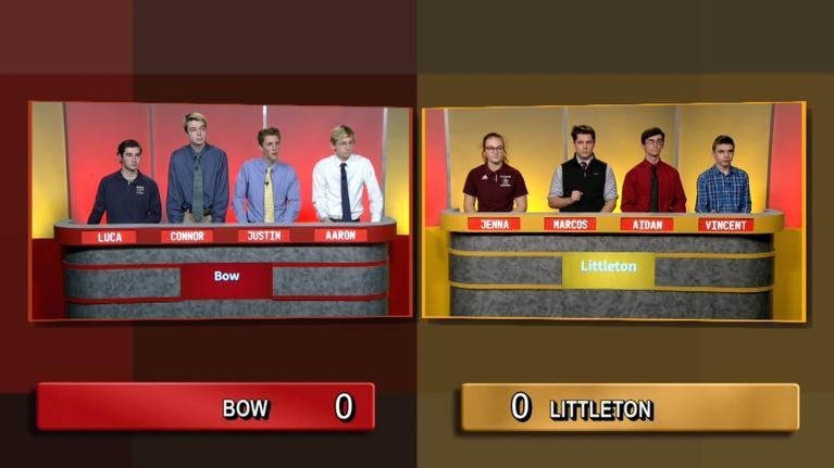 Granite State Challenge: Bow Vs. Littleton