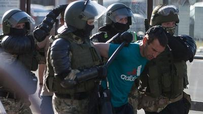PBS NewsHour   News Wrap: 6,000 detained in Belarus as protests continue