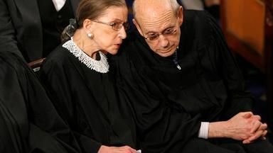 Justice Stephen Breyer remembers Ruth Bader Ginsburg