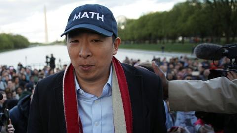 Andrew Yang Shows His Work