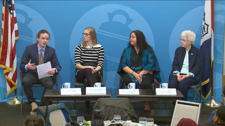 The City Club Forum: Breaking Barriers: Women's Immigration Rights