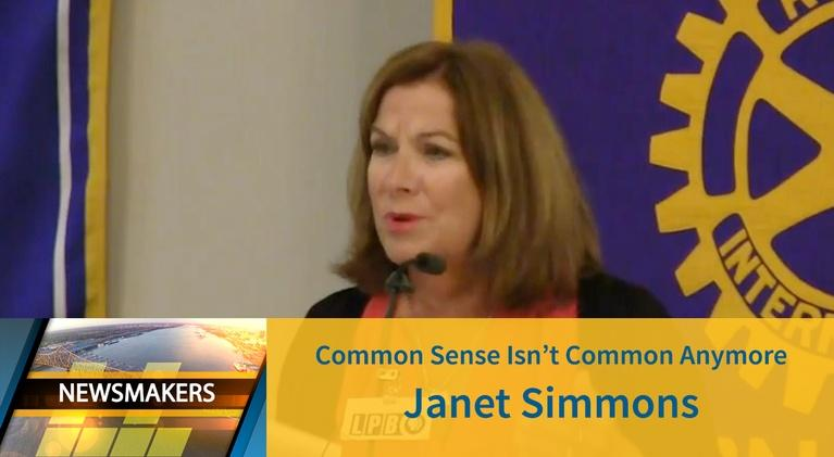 Newsmakers: Common Sense | Janet Simmons | 05/08/19 | Newsmakers