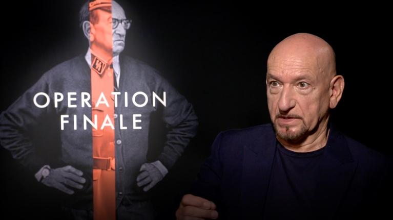 "Flicks: Sir Ben Kingsley for ""Operation Finale"""