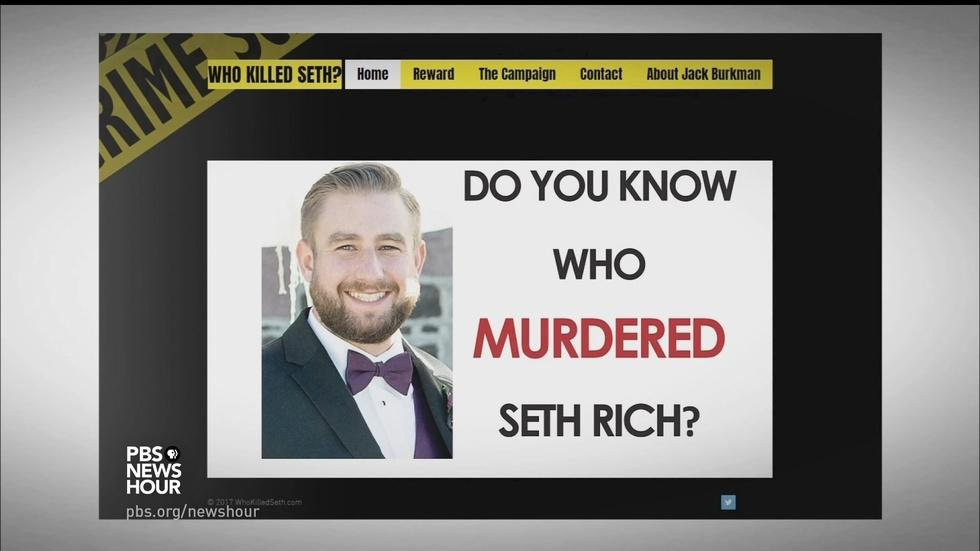 How a conspiracy theory grew around Seth Rich's murder image