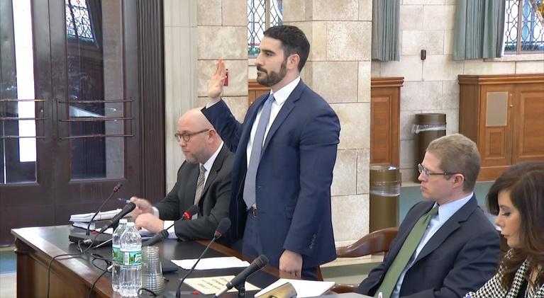 NJTV News: Committee hears from Murphy staffers on rape allegation