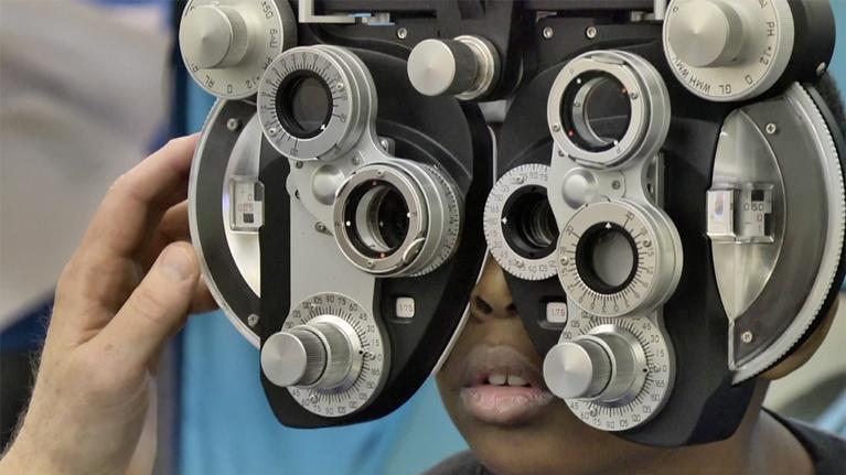 Virginia Currents: Mechanicsville Medium; Free Eye Glasses (#2815)