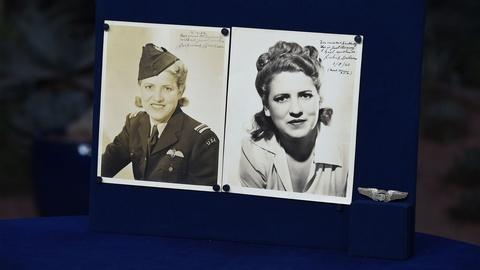 Antiques Roadshow -- Appraisal: Jackie Cochran-signed Photos & WASP Wings