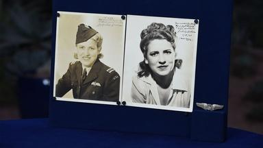 Appraisal: Jackie Cochran-signed Photos & WASP Wings