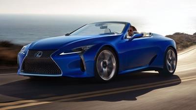 2021 Lexus LC 500 Convertible & 2020 Rolls Royce Cullinan