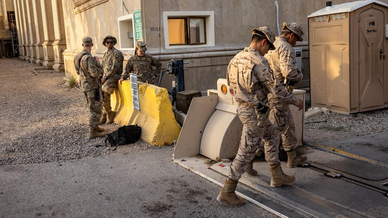 As ISIS presence dwindles, troops in Iraq face other threats