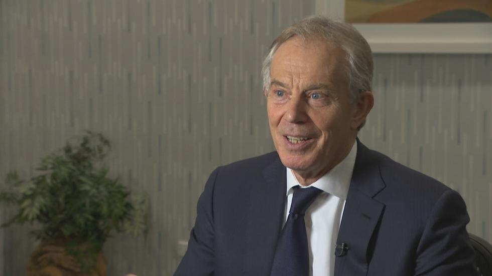 Web Extra: Tony Blair Full Interview image