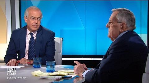 Shields and Brooks on Trump and Syria, impeachment politics