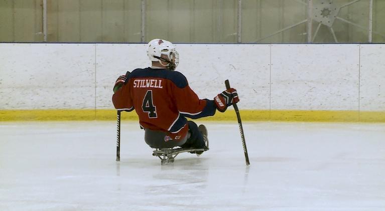 Headline: Living with Disability: Good Hockey, Part I