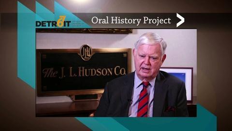 American Black Journal -- Detroit 67 Oral History Project: Joseph L. Hudson, Jr.