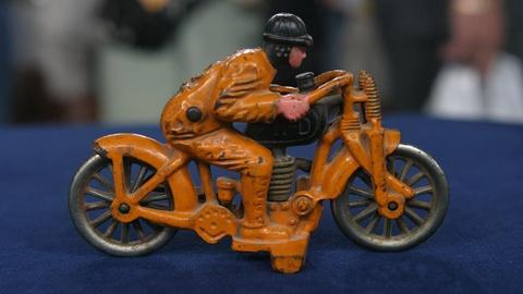 Antiques Roadshow -- Appraisal: Hubley Harley-Davidson Hill Climber, ca. 1930