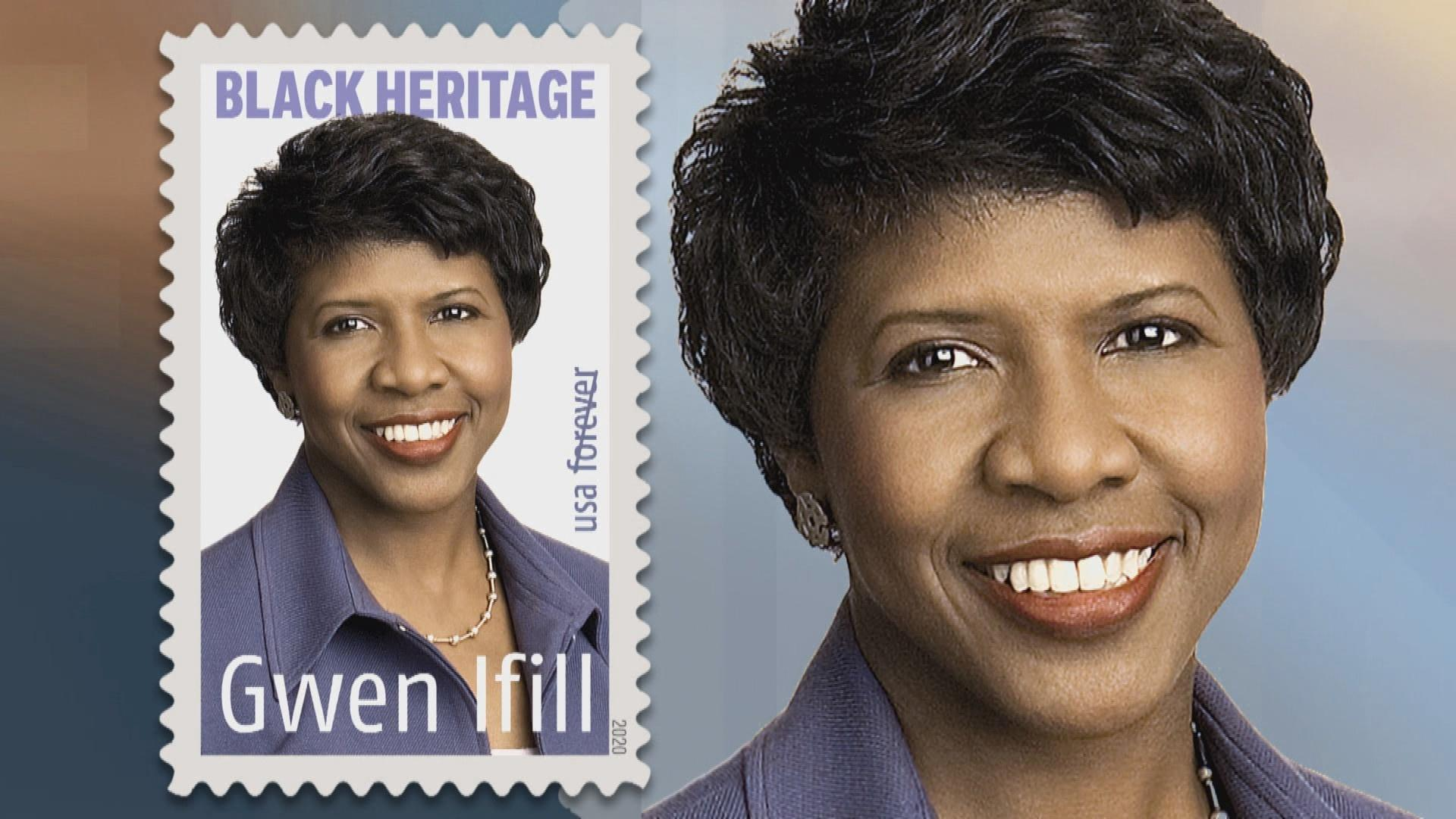 Late Journalist Gwen Ifill on New USPS Forever Stamp