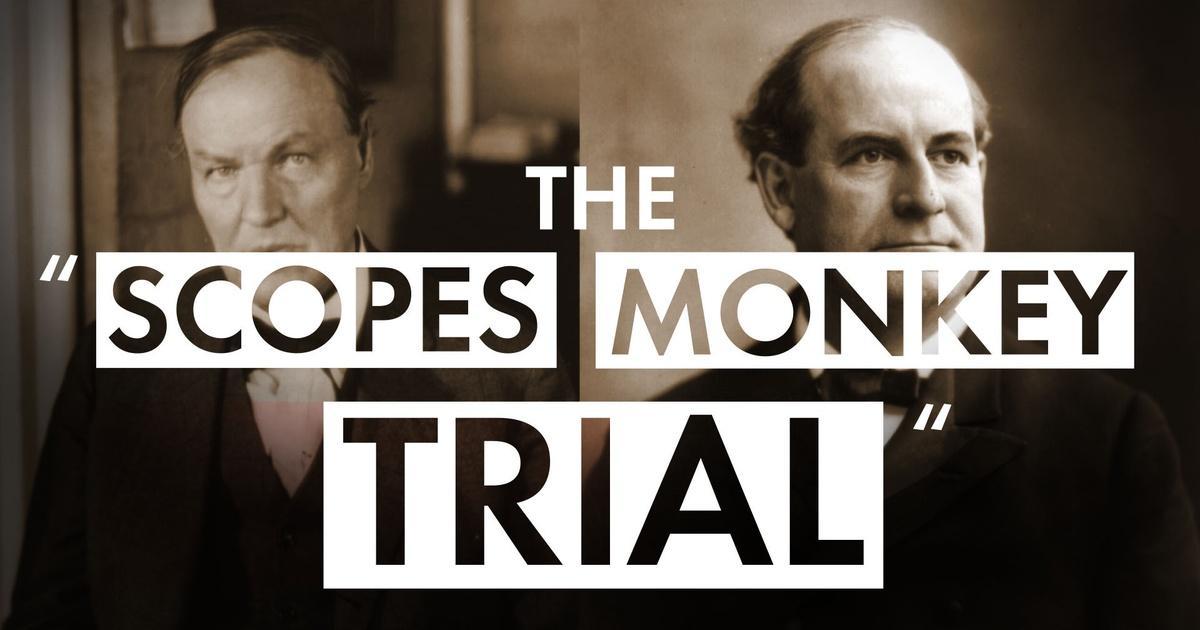 the  u0026quot scopes monkey trial u0026quot