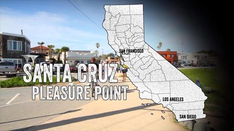 California Coastal Trail -- Pleasure Point: Connecting Santa Cruz to Surf Breaks