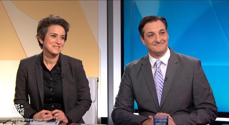 PBS NewsHour: Amy Walter and Domenico Montanaro on impeachment inquiry
