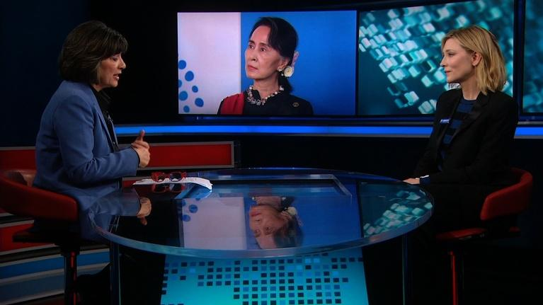 Amanpour on PBS: Amanpour: Gretchen Carlson and Cate Blanchett