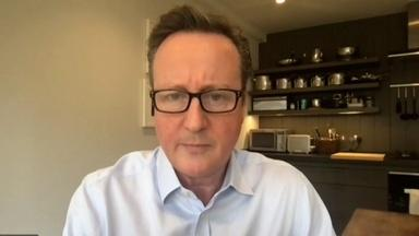 An Exclusive With Former UK Prime Minister David Cameron