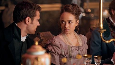 Sanditon -- Theo James & Rose Williams on Sidney & Charlotte