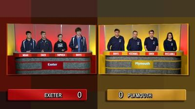 Granite State Challenge | Quarter Final 3 - Exeter Vs Plymouth