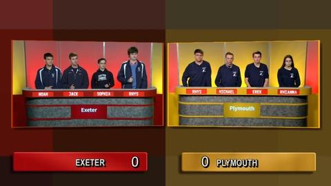 Quarter Final 3 - Exeter Vs Plymouth