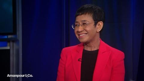 "Amanpour and Company -- Maria Ressa on President Duterte's Infamous ""War on Drugs"""