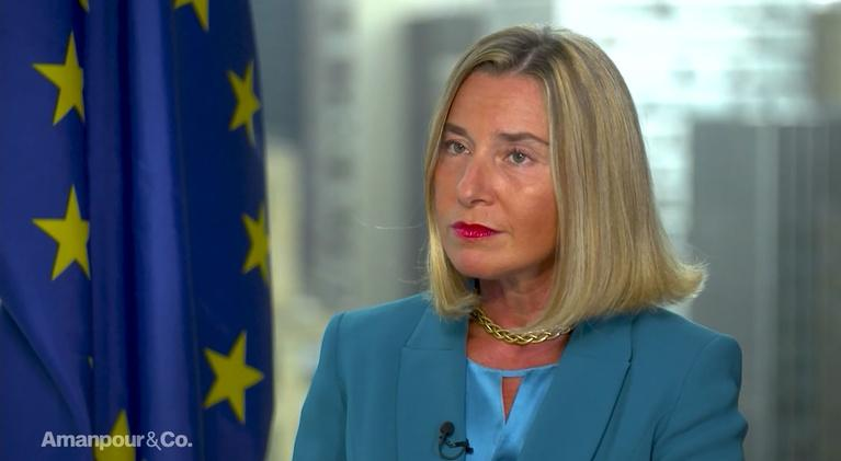 Amanpour and Company: Federica Mogherini