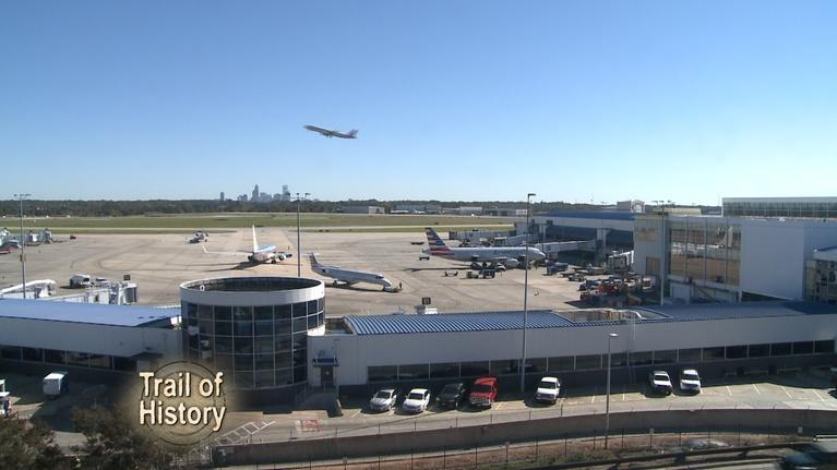 Trail of History: Trail of History - Charlotte's Airport