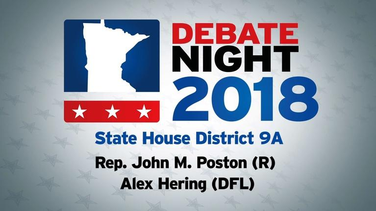 Debate Night: MN House District 9A