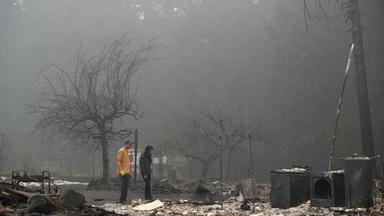 Oregon grapples with converging crises of fires and pandemic