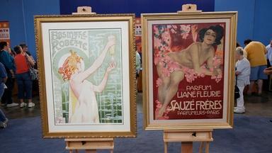 Appraisal: Art Nouveau Posters, ca. 1896