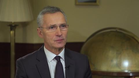 Amanpour and Company -- Jens Stoltenberg on Terrorism and Tensions Within NATO