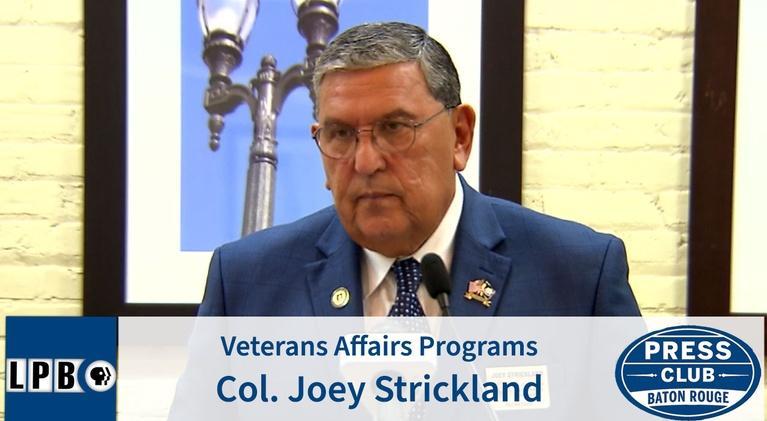 Press Club: Veterans Affairs Programs | Col Joey Strickland | 03/16/20 |